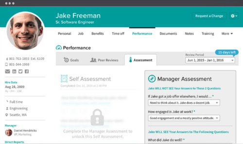 BambooHR Manager Assessment