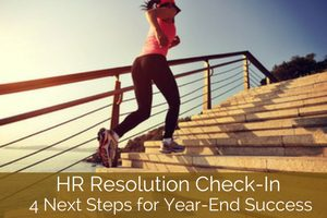 HR resolution next steps